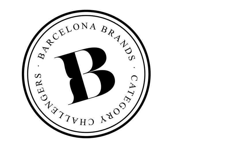 barcelona brands round logo