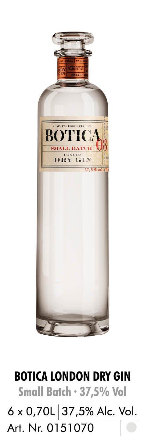 botica london dry gin