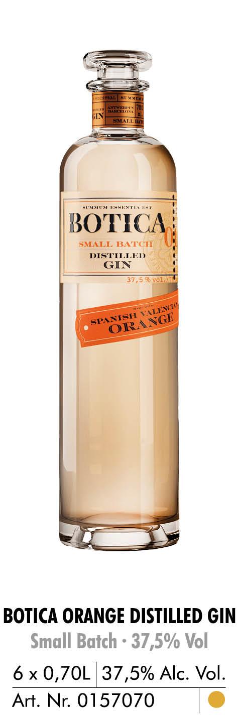 botica orang distilled gin