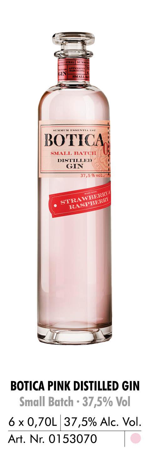 botica pink distilled gin