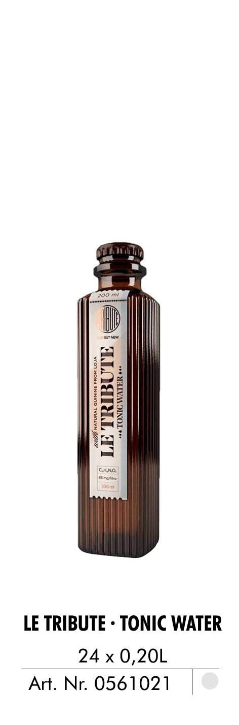 le tribute tonic water