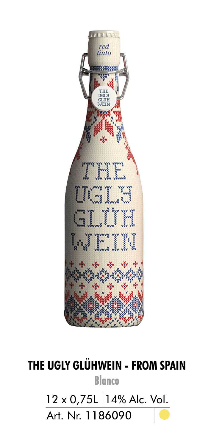 the ugly gluhwein blanco 1l